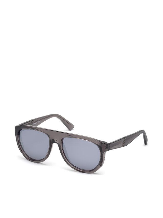 Diesel DL0255, Grey - Eyewear - Image 4