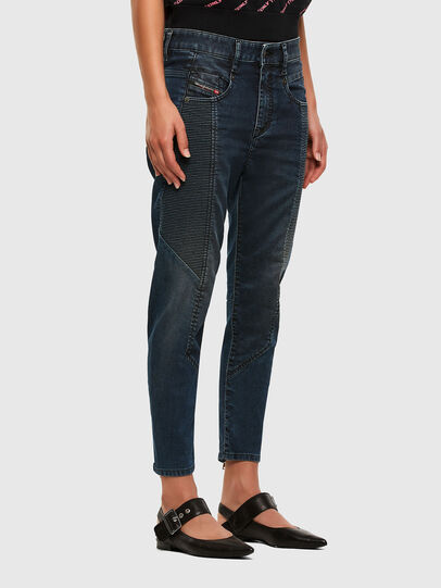 Diesel - Fayza JoggJeans 069PQ, Dark Blue - Jeans - Image 6