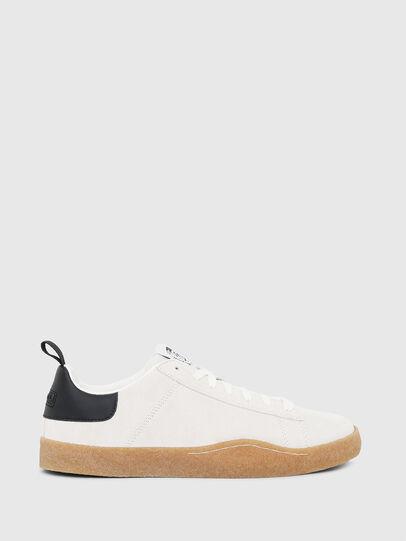 Diesel - S-CLEVER PAR LOW, White/Black - Sneakers - Image 1