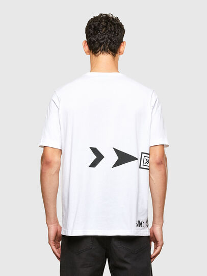 Diesel - T-JUST-A42, White - T-Shirts - Image 2