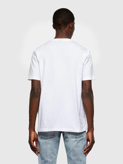 Diesel - T-JUST-LAB, White - T-Shirts - Image 2