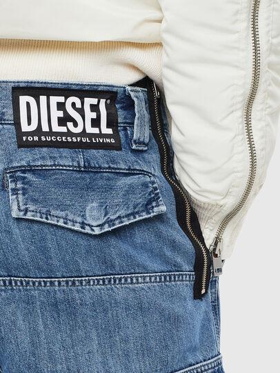 Diesel - D-Luks 009CL, Light Blue - Jeans - Image 7