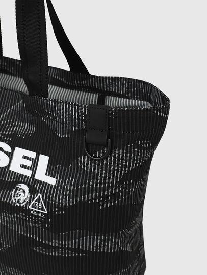 Diesel - D-THISBAG SHOP M, Black - Shopping and Shoulder Bags - Image 5