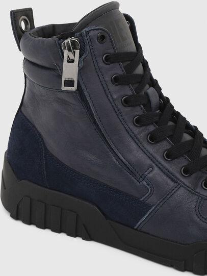 Diesel - S-RUA MID, Blue - Sneakers - Image 6