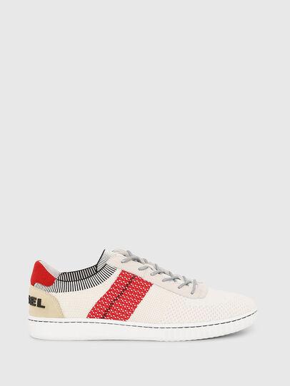 Diesel - S-MILLENIUM LOW, Cream - Sneakers - Image 1