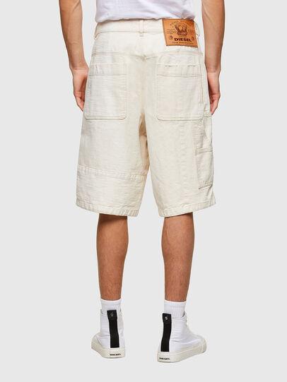 Diesel - D-FRANS-SP1, White - Shorts - Image 2