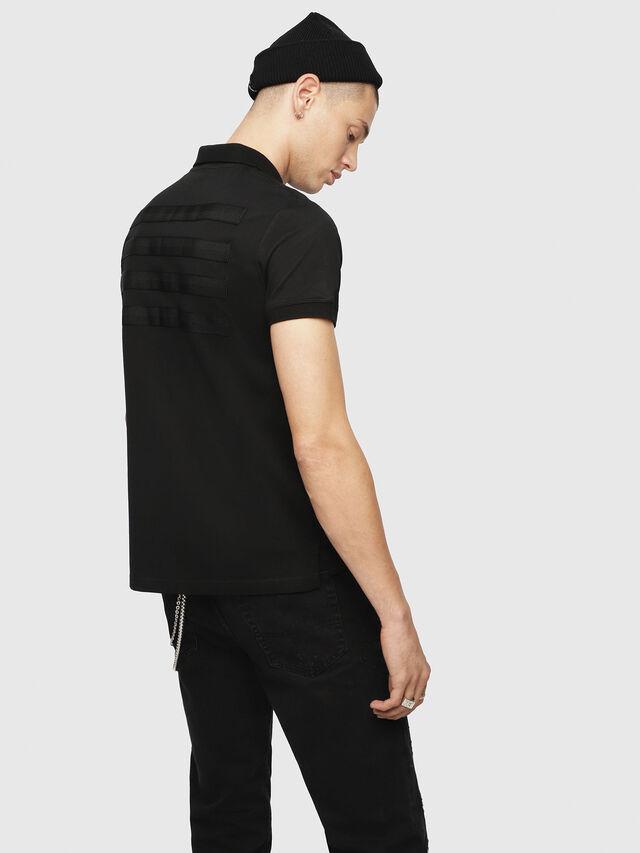 8221581af548 T-MIKIO Men: Piqué polo shirt with tonal tape   Diesel
