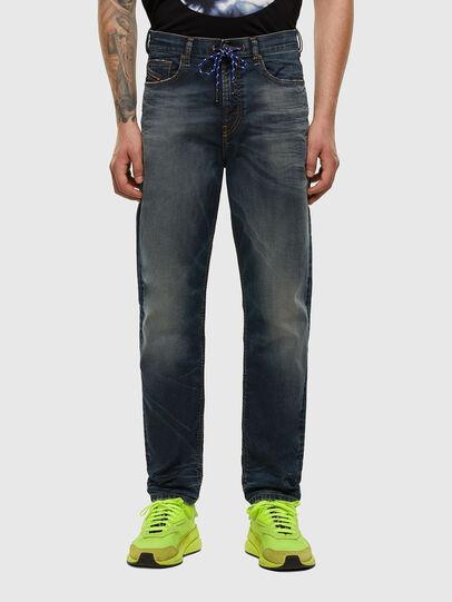 Diesel - D-VIDER JoggJeans® 069NT, Dark Blue - Jeans - Image 1