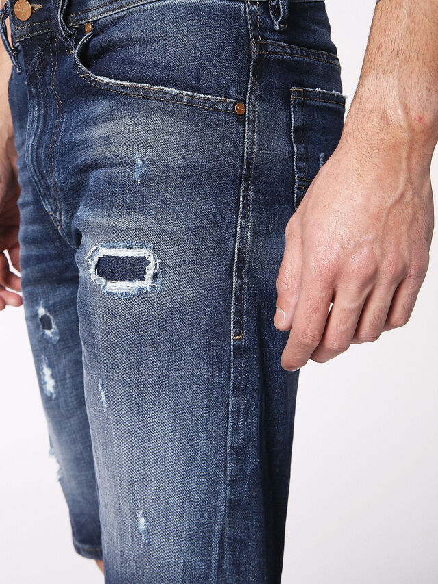 Diesel - THOSHORT, Blue Jeans - Shorts - Image 7
