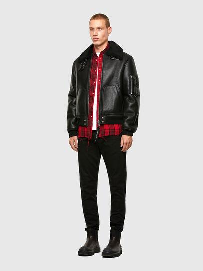 Diesel - L-ARNOLD,  - Leather jackets - Image 6