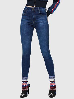 Slandy High 089AJ, Dark Blue - Jeans