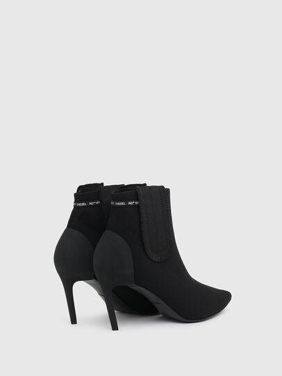 Diesel - D-SLANTY MASM, Black - Ankle Boots - Image 3