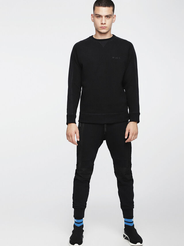 Diesel - S-TINA, Opaque Black - Sweaters - Image 4