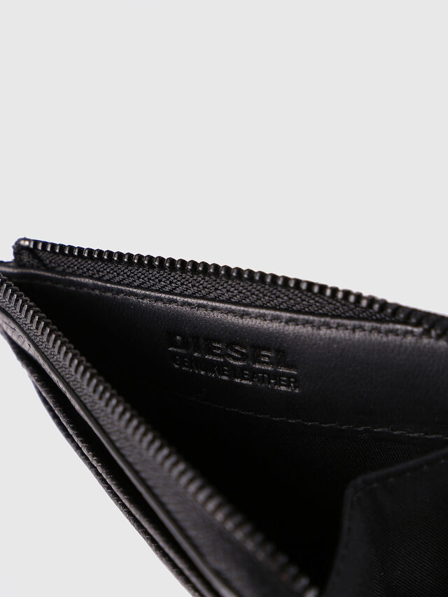Diesel - PASS ME, Black - Continental Wallets - Image 4