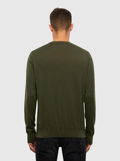 Diesel - K-FREEX-B, Military Green - Knitwear - Image 2