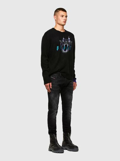 Diesel - K-NOAH, Black - Knitwear - Image 5