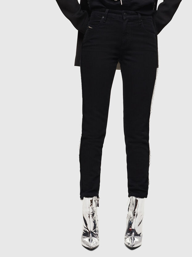 Babhila 0NAZH, Black/Dark grey - Jeans