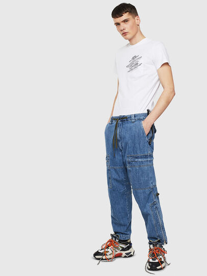 Diesel - T-WORKY-S1, White - T-Shirts - Image 4