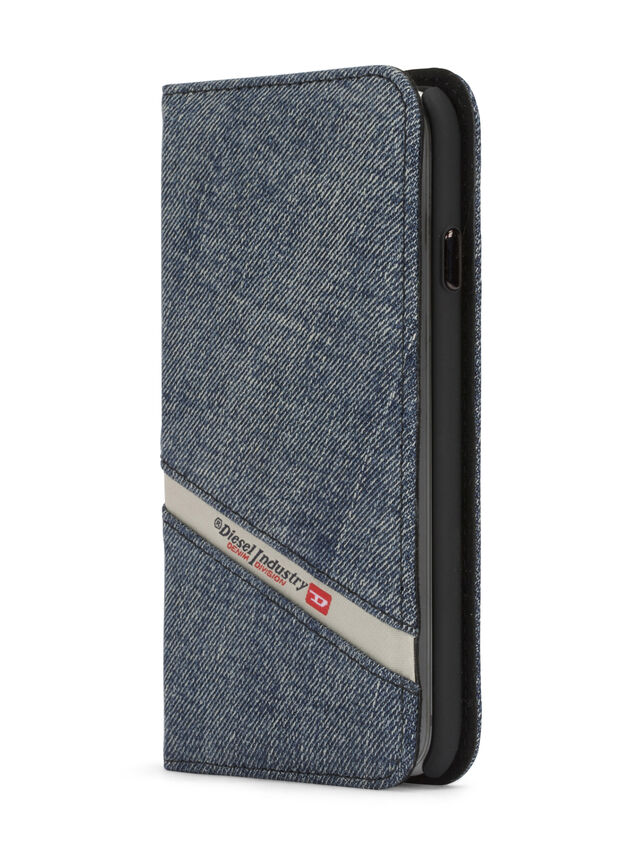 DENIM IPHONE 8/7 FOLIO, Blue jeans