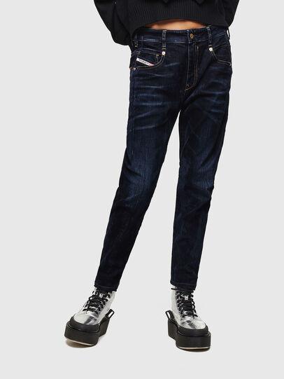 Diesel - Fayza 0091U, Dark Blue - Jeans - Image 1