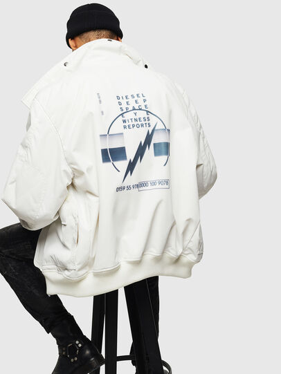 Diesel - W-OKSO, White - Winter Jackets - Image 6