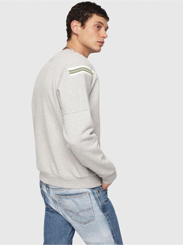 Diesel - S-RADIO, Light Grey - Sweaters - Image 2