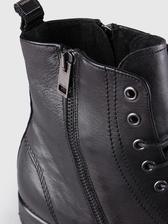 Diesel D-KALLIEN, Black Leather - Boots - Image 5