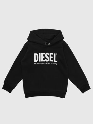 SDIVISION-LOGO OVER, Black - Sweaters