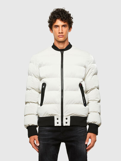 Diesel - W-ON-A, White - Winter Jackets - Image 1