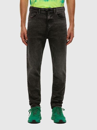 Diesel - D-VIDER JoggJeans® 009FZ, Black/Dark grey - Jeans - Image 1
