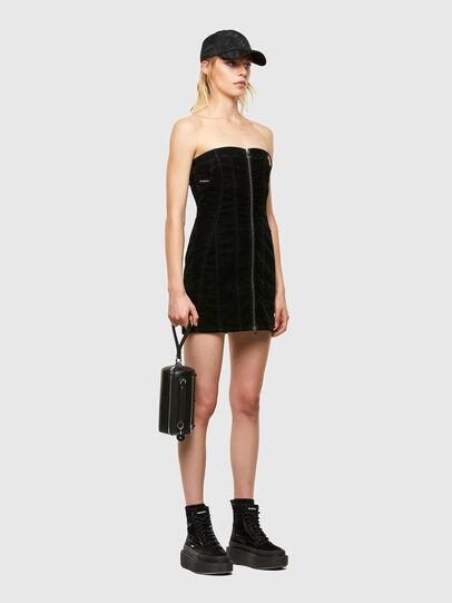 Diesel - D-VOLCANO-SP JOGGJEANS, Black/Dark grey - Dresses - Image 5