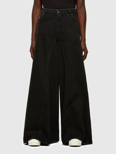Diesel - D-Spritzz 009RN, Black/Dark grey - Jeans - Image 1