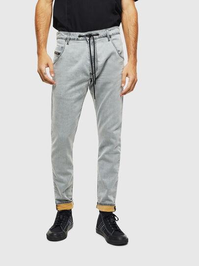 Diesel - Krooley JoggJeans 069MH, Grey - Jeans - Image 1