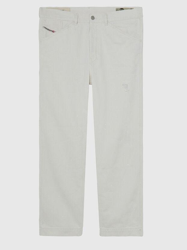 D-Franky 009BZ, White - Jeans