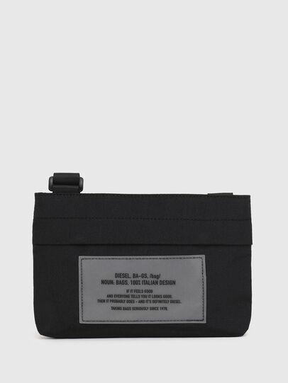 Diesel - CROPAK, Black - Crossbody Bags - Image 1