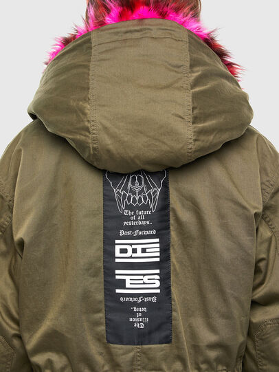 Diesel - G-URIBE, Military Green - Jackets - Image 4