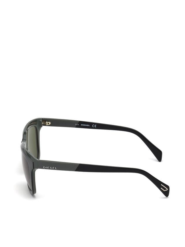 Diesel - DL0224, Green - Eyewear - Image 3