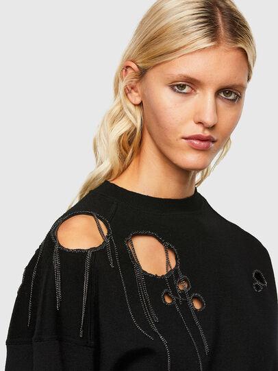 Diesel - M-ARIZONA, Black - Knitwear - Image 4