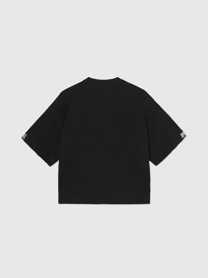 Diesel - UFTEE-SHORTEE, Black - T-Shirts - Image 2