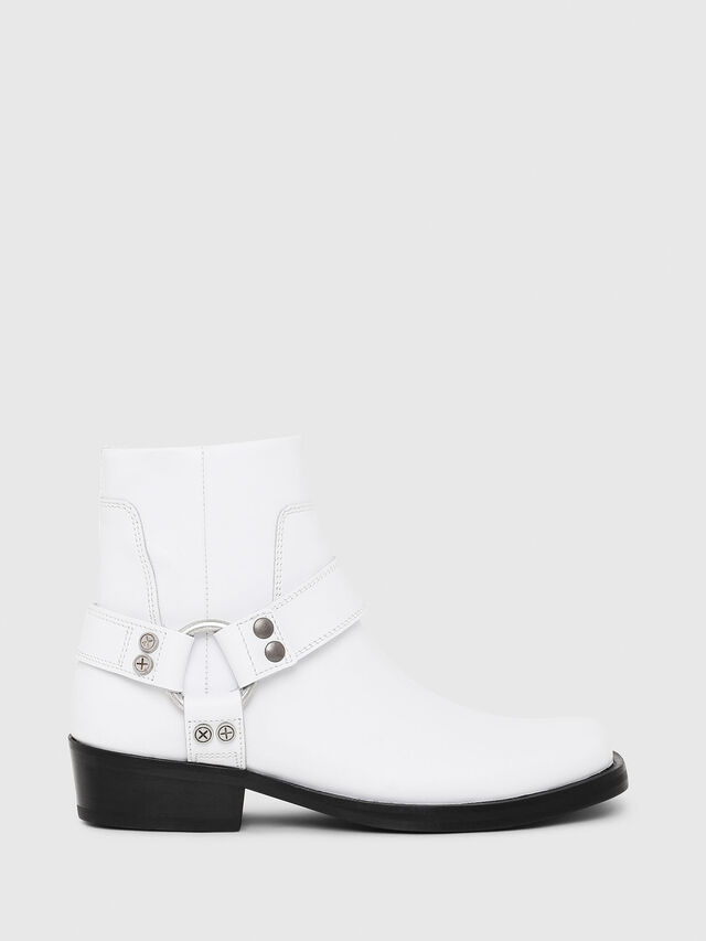 Diesel - D-BIOYS MC, White - Boots - Image 1