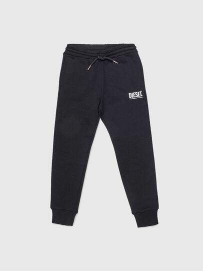 Diesel - PTARYLOGO, Black - Pants - Image 1