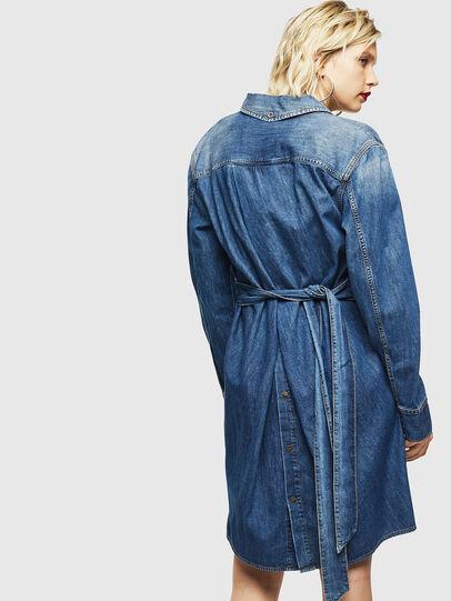 Diesel - DE-BLEU, Medium blue - Dresses - Image 2