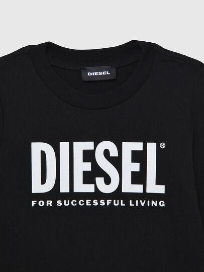 Diesel - TJUSTLOGOB ML-R, Black - T-shirts and Tops - Image 3