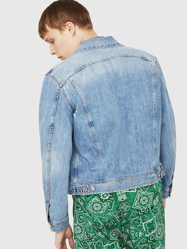 Diesel - D-ROY, Blue Jeans - Denim Jackets - Image 2
