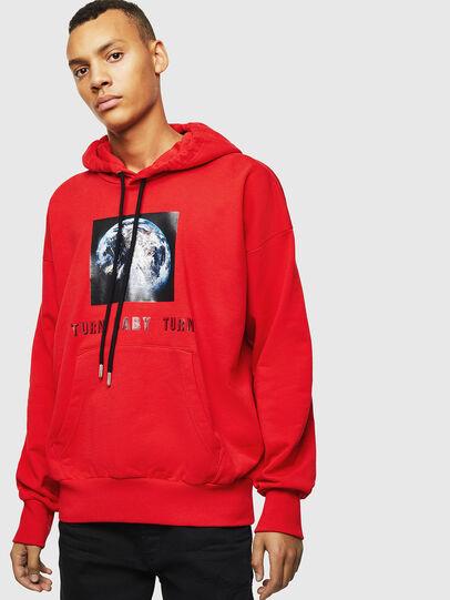 Diesel - S-ALBY-YA, Red - Sweaters - Image 1