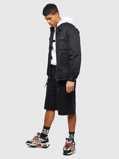 Diesel - J-BEGO, Black - Jackets - Image 7
