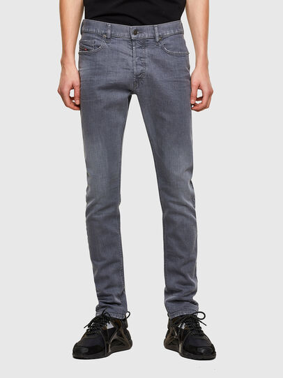 Diesel - D-Luster 009PB, Light Grey - Jeans - Image 1
