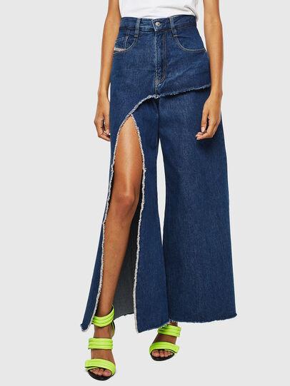 Diesel - D-Izzier 0LAXA, Dark Blue - Jeans - Image 1
