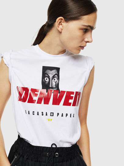 Diesel - LCP-T-DIEGO-DENVER, White - T-Shirts - Image 6