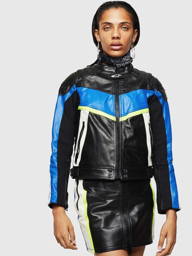 ASTARS-LQUATTRO, Black - Leather jackets